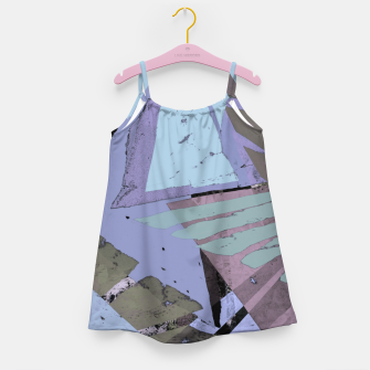 Thumbnail image of Broken window pane Girl's dress, Live Heroes