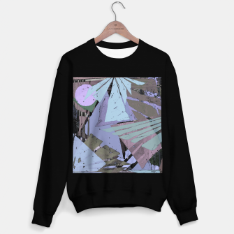 Thumbnail image of Broken window pane Sweater regular, Live Heroes