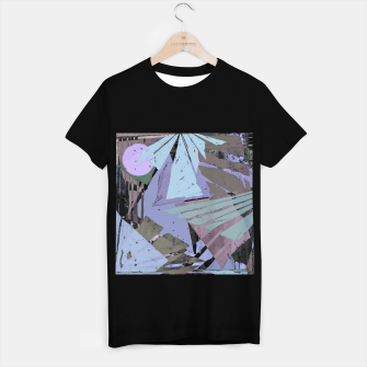 Thumbnail image of Broken window pane T-shirt regular, Live Heroes