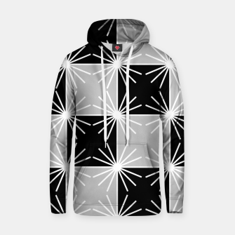 Miniaturka Abstract geometric pattern - gray, black and white. Hoodie, Live Heroes