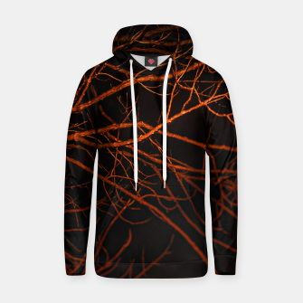 Thumbnail image of Dark Night Scene Forest Landscape Hoodie, Live Heroes