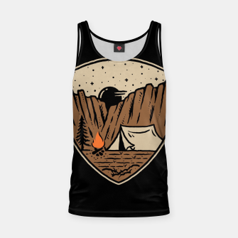 Thumbnail image of Camp Cliffs Tank Top, Live Heroes