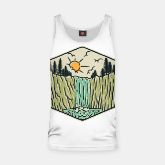 Thumbnail image of Beauty Waterfall Tank Top, Live Heroes