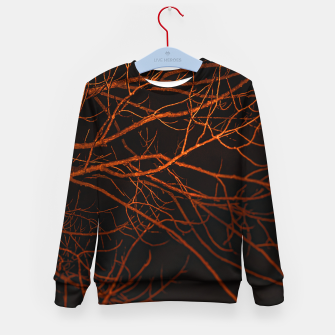 Thumbnail image of Dark Night Scene Forest Landscape Kid's sweater, Live Heroes