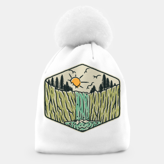 Thumbnail image of Beauty Waterfall Beanie, Live Heroes