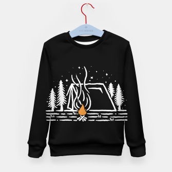 Thumbnail image of Tent Lines Kid's sweater, Live Heroes