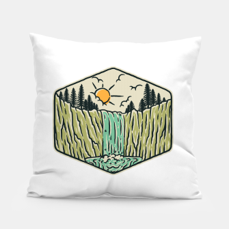 Thumbnail image of Beauty Waterfall Pillow, Live Heroes