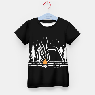 Thumbnail image of Tent Lines Kid's t-shirt, Live Heroes