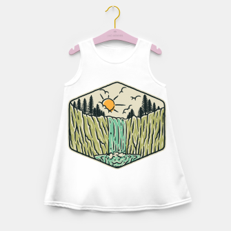 Thumbnail image of Beauty Waterfall Girl's summer dress, Live Heroes