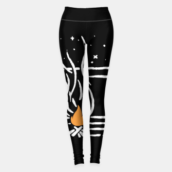 Thumbnail image of Tent Lines Leggings, Live Heroes