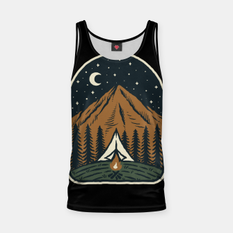 Thumbnail image of Camp Mountain Night Tank Top, Live Heroes