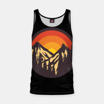 Thumbnail image of Mountain Sunset Tank Top, Live Heroes