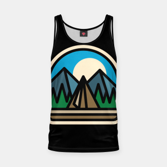 Thumbnail image of Camp Bold Tank Top, Live Heroes