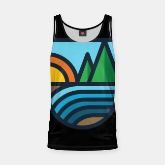 Thumbnail image of River Bold Tank Top, Live Heroes