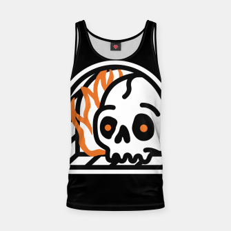 Thumbnail image of Hell Tank Top, Live Heroes