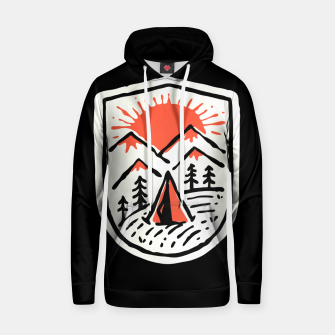 Thumbnail image of Sunset Camp Hand Drawn Hoodie, Live Heroes