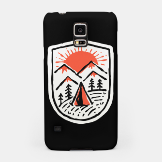 Thumbnail image of Sunset Camp Hand Drawn Samsung Case, Live Heroes