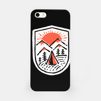 Thumbnail image of Sunset Camp Hand Drawn iPhone Case, Live Heroes