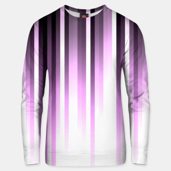 Thumbnail image of Ultra violet madness, dark shades lines print  Unisex sweater, Live Heroes