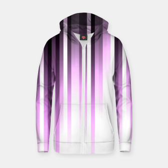 Thumbnail image of Ultra violet madness, dark shades lines print  Zip up hoodie, Live Heroes