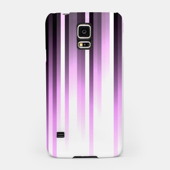 Thumbnail image of Ultra violet madness, dark shades lines print  Samsung Case, Live Heroes