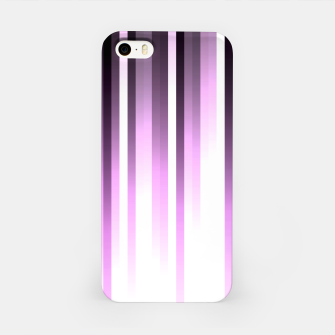 Thumbnail image of Ultra violet madness, dark shades lines print  iPhone Case, Live Heroes