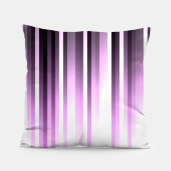 Thumbnail image of Ultra violet madness, dark shades lines print  Pillow, Live Heroes