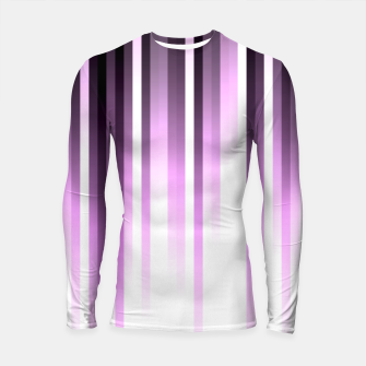 Thumbnail image of Ultra violet madness, dark shades lines print  Longsleeve rashguard , Live Heroes