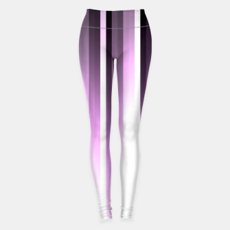 Thumbnail image of Ultra violet madness, dark shades lines print  Leggings, Live Heroes