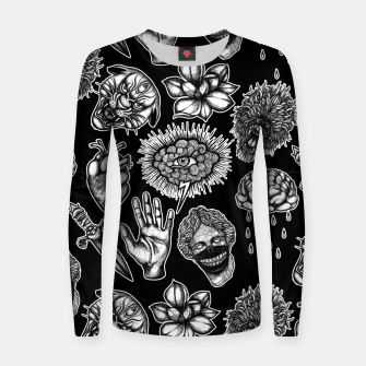 Thumbnail image of Mix Women sweater, Live Heroes