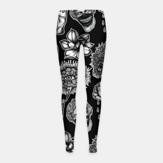 Thumbnail image of Mix Girl's leggings, Live Heroes