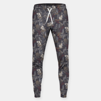 Thumbnail image of Bathing kitties in ochre tropical lush Sweatpants, Live Heroes