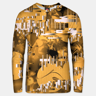 Thumbnail image of Yellow trinity Unisex sweater, Live Heroes