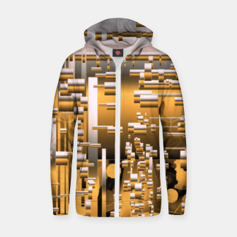 Miniaturka Yellow trinity Zip up hoodie, Live Heroes