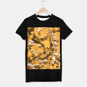 Miniaturka Yellow trinity T-shirt regular, Live Heroes