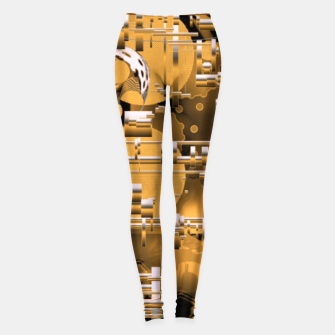 Miniaturka Yellow trinity Leggings, Live Heroes