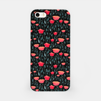 Miniatur Poppy Field iPhone Case, Live Heroes