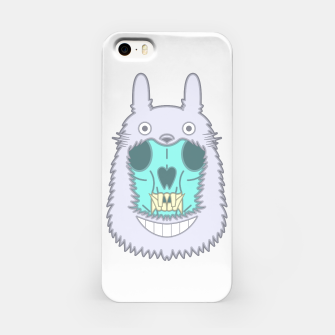 Thumbnail image of Totoro Skull iPhone Case, Live Heroes