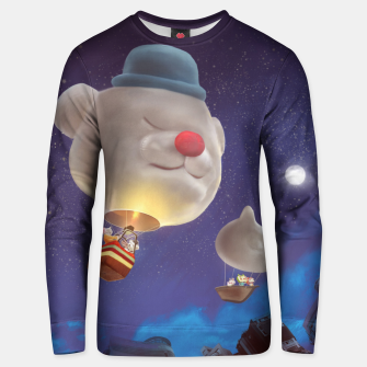 Thumbnail image of Hot Air Balloon Unisex sweater, Live Heroes