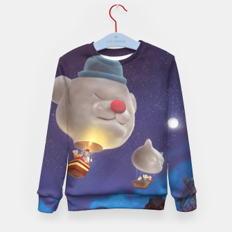 Thumbnail image of Hot Air Balloon Kid's sweater, Live Heroes