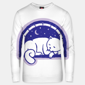 Thumbnail image of Cat Sleep Unisex sweater, Live Heroes