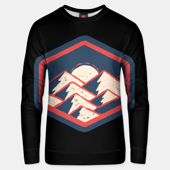 Thumbnail image of Mountains Unisex sweater, Live Heroes