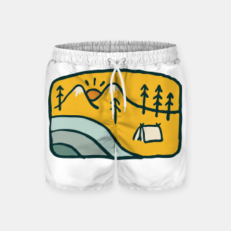Thumbnail image of Sweet Home Swim Shorts, Live Heroes