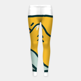 Thumbnail image of Sweet Home Girl's leggings, Live Heroes