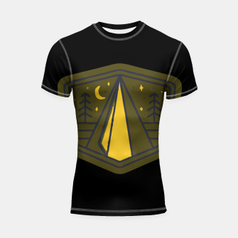 Thumbnail image of Beauty Night Shortsleeve rashguard, Live Heroes