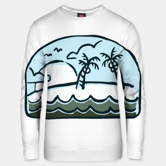Thumbnail image of Beauty Beach Unisex sweater, Live Heroes