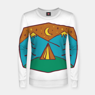 Thumbnail image of Camp Night Women sweater, Live Heroes