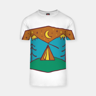 Thumbnail image of Camp Night T-shirt, Live Heroes