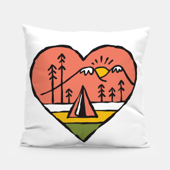 Thumbnail image of Camping in Love Pillow, Live Heroes