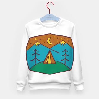 Thumbnail image of Camp Night Kid's sweater, Live Heroes